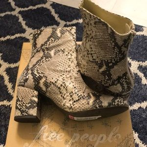Free People Taupe Boots